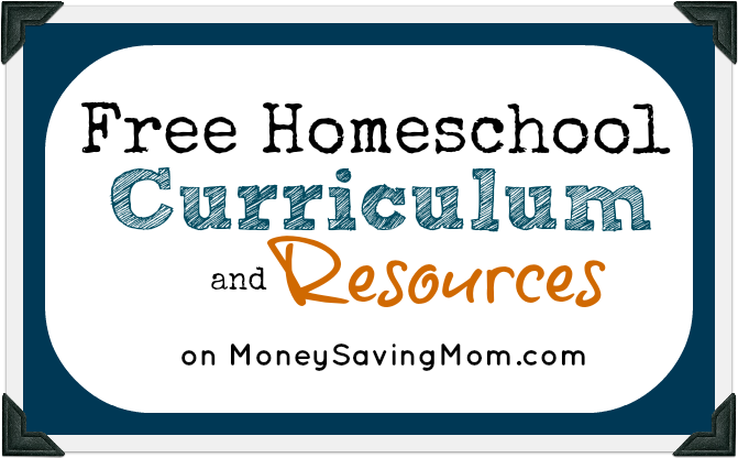 Free Homeschool Curriculum & Resources | Money Saving Mom ...