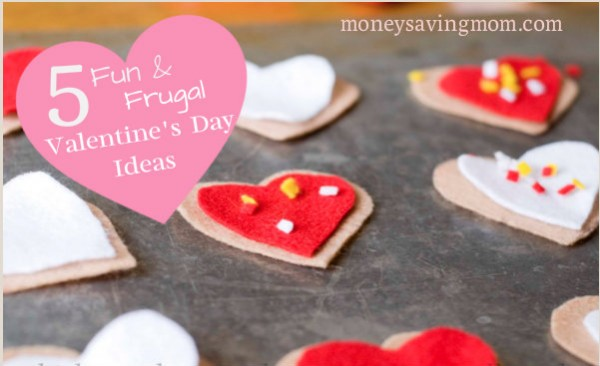 5 Fun & Frugal Valentine's Day Ideas