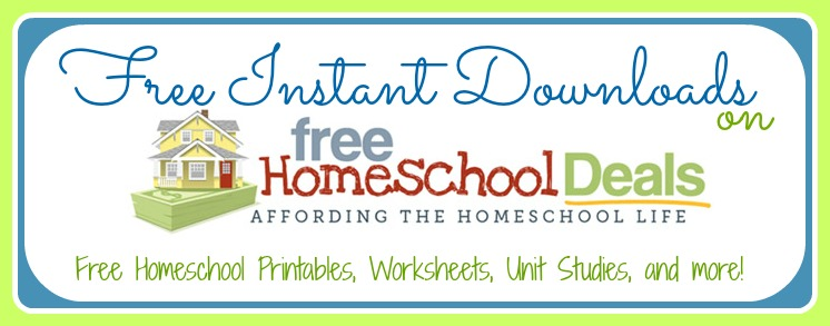Free Homeschool Instant Downloads