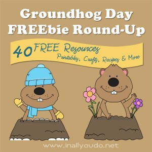 Free Groundhog Day Printables
