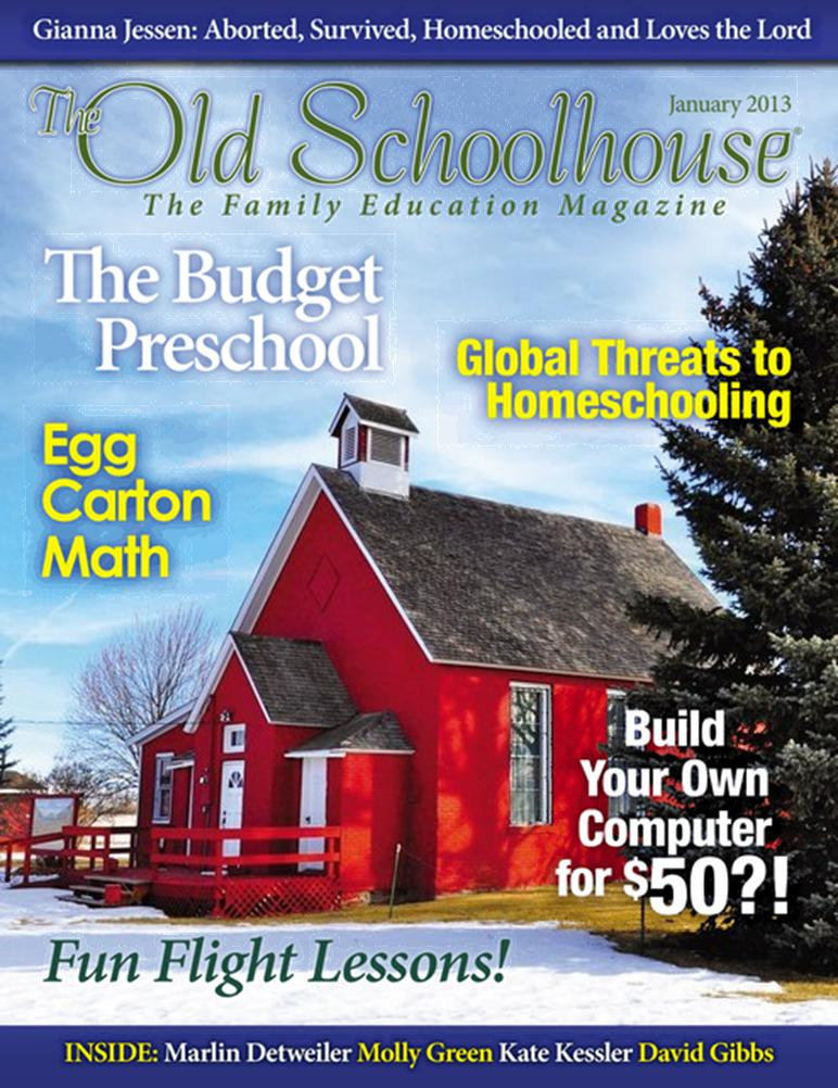 Free homeschool magazine the old schoolhouse free for Free home magazines