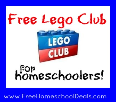 Free Lego Club for Homeschoolers