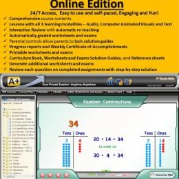 Free 1st Grade MATH Online (1 Month Access) – Interactive MATH Full Curriculum