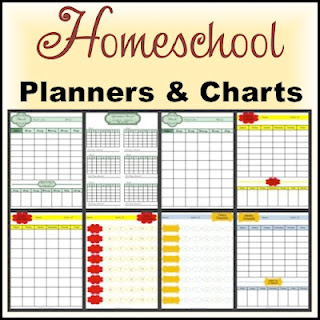 Free Homeschool Planners and Charts