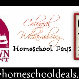 Colonial Williamsburg Winter Homeschool Days 2/16-2/24