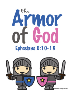 Free Armor of God Printable Pack