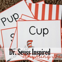 Free Dr. Seuss Inspired Rhyming Game