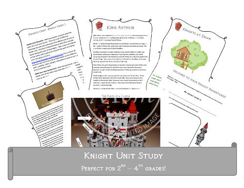 Free Knight Unit Study (Grades 2-4)