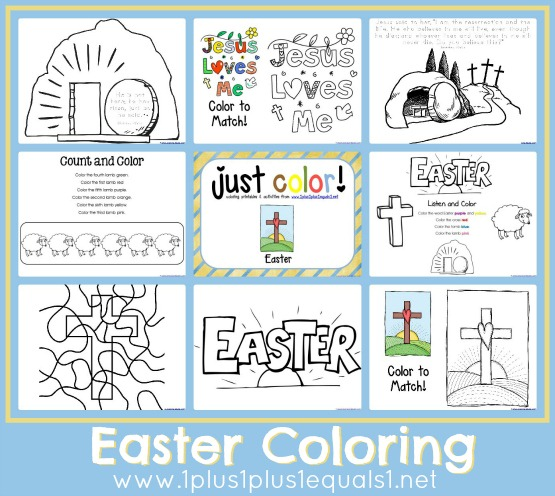 Free Easter Coloring Pages Free