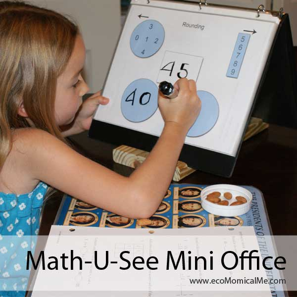 Free Printable Math-U-See Mini Office