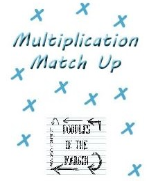 Free Multiplication Match Up (50-Pages)