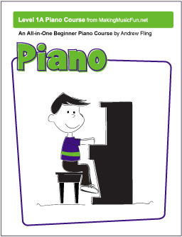Free All-In-One Beginner Piano Music Book