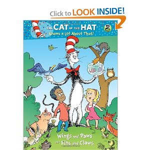 wings and paws and fins and claws dr seusscat in the hat deluxe coloring book - Sprout Super Wings Coloring Pages