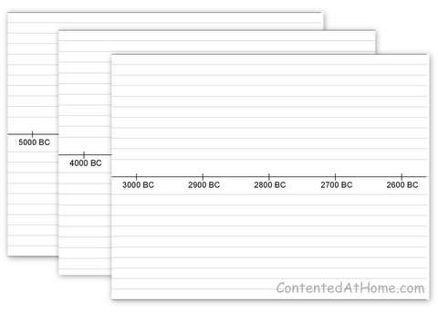 printable blank timeline template .