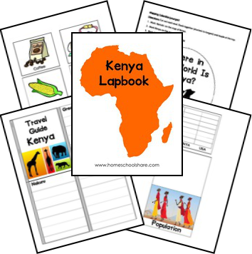 Free Egypt Lapbook