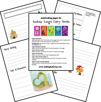 FREE Andrew Lang & Fairy Books Printables