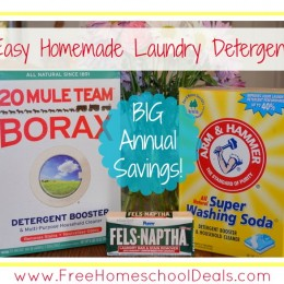 How to Make Easy Homemade Laundry Detergent