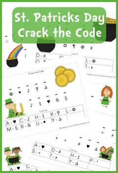 Free Worksheets St Patrick S Day Crack The Code