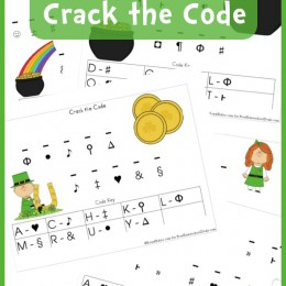 Free Worksheets: St. Patrick's Day Crack the Code Printable Set (Instant Download)
