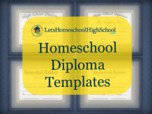 Free homeschool high school diploma templates free for Free high school diploma templates