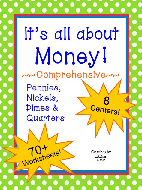 Free Math Money Worksheets