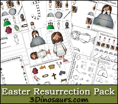 free resurrection printables