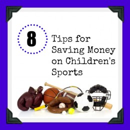 8 Tips for Saving Money on Children's Sports