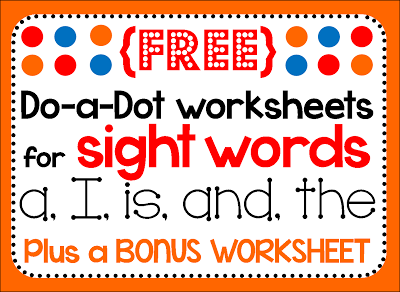 Dolch Word Worksheets: EnchantedLearning.com