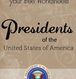 Free U.S. Presidents Facts and Worksheets