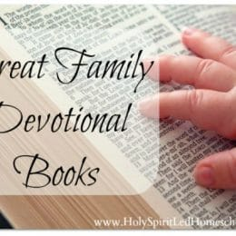 Top Twenty Family Devotional Resources