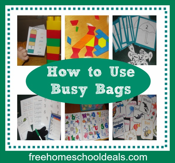 How to Use Busy Bags