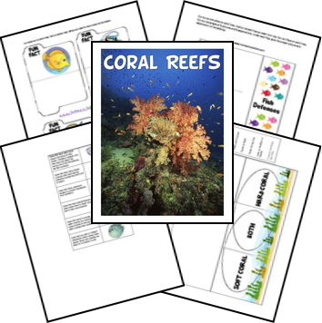 FREE Unit Study and Lapbook for Coral Reef