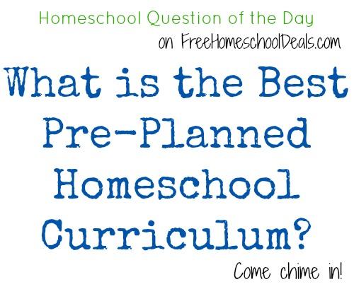What is the best pre planned homeschool curriculum homeschool what is the best pre planned homeschool curriculum homeschool question of the day free homeschool deals fandeluxe Choice Image