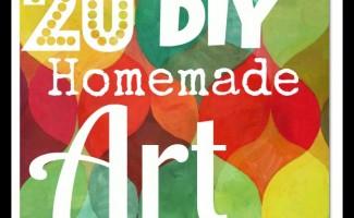 Homemade Art Supplies