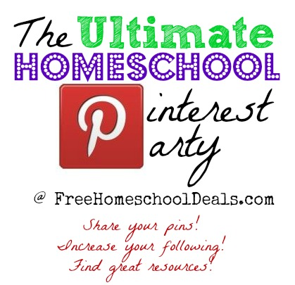 the ultimate homeschool pinterest party