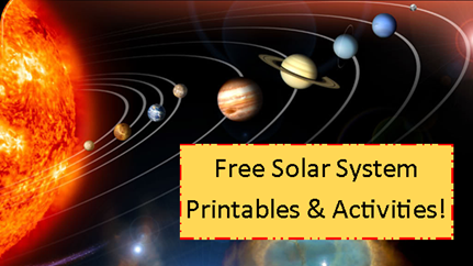 Free Solar System Worksheet Printables and Activities