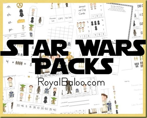 Free Homeschool Printables: Star Wars Free Printable Worksheets Pack ...