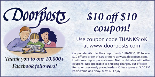 Limited Time: Doorposts $10 off $10 Coupon