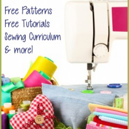 Free Sewing Patterns, Tutorials, Sewing Curriculum, plus more