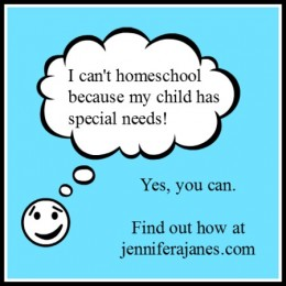 Can I Homeschool My Child with Special Needs