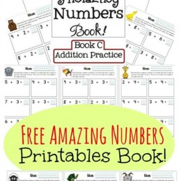 Free Amazing Numbers Printables Book {Subscriber Freebie}