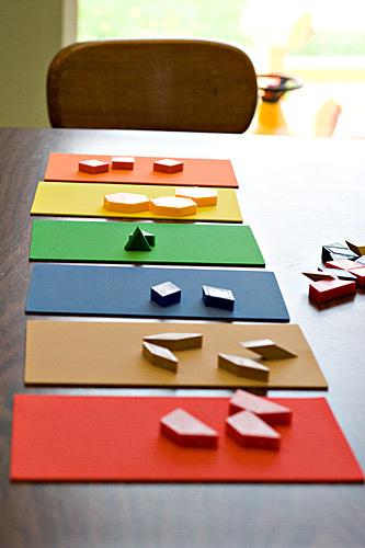 Free Pattern Block Printable Worksheets | Free Homeschool Deals ©