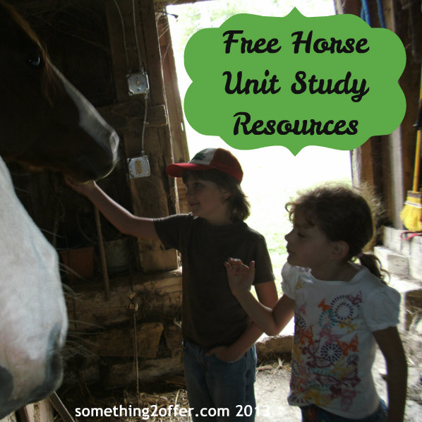 Free Horse Unit Study Resources