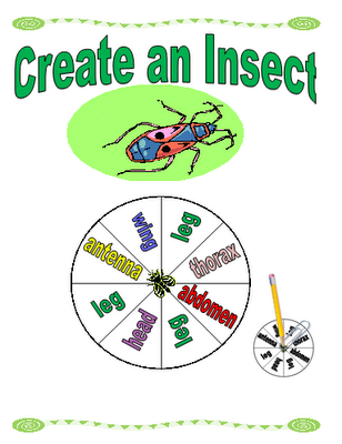 Free Create An Insect Printable Game Free Homeschool Deals
