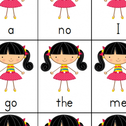 Free Printable Sight Words Go Fish Game