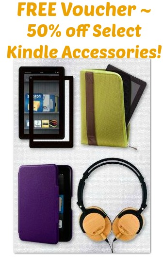 FREE Voucher for 50% off Select Kindle Accessories! | Free ...