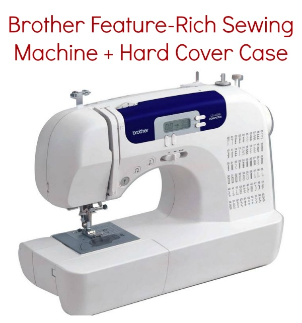 Book Cover Sewing Machine : Amazon brother feature rich sewing machine hard