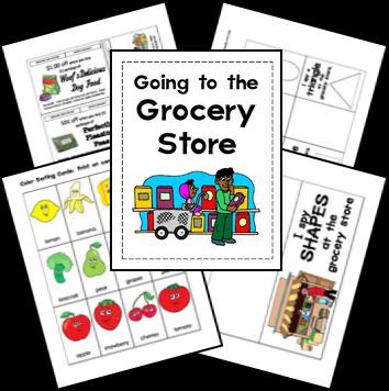 Free Grocery Store Lapbook Printables | Free Homeschool ...