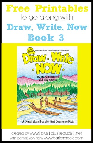 FREE Draw, Write, Now Book 3 Printables