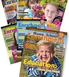 Free Homeschool Magazines: Home School Enrichment Magazine (All 2012 Issues)